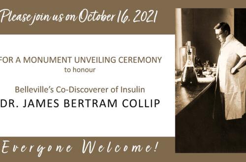 Collip Monument Unveiling Oct 16